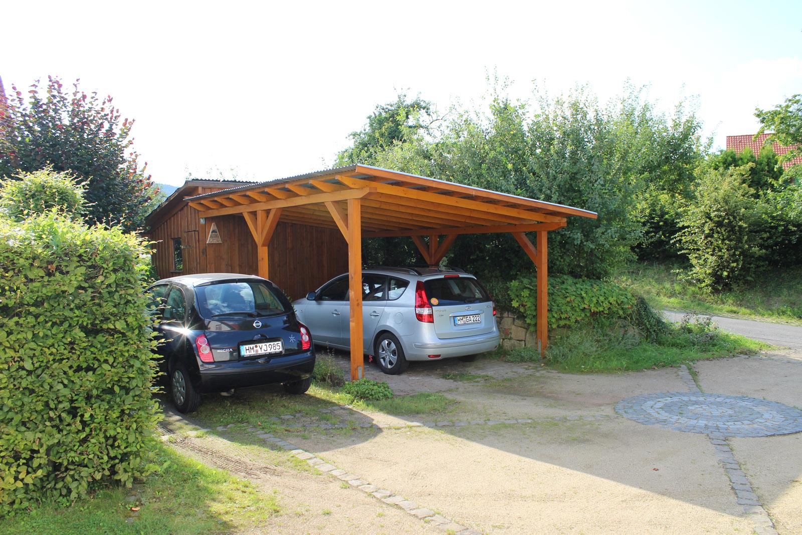 carport mit pultdach projektwerkstatt holz. Black Bedroom Furniture Sets. Home Design Ideas