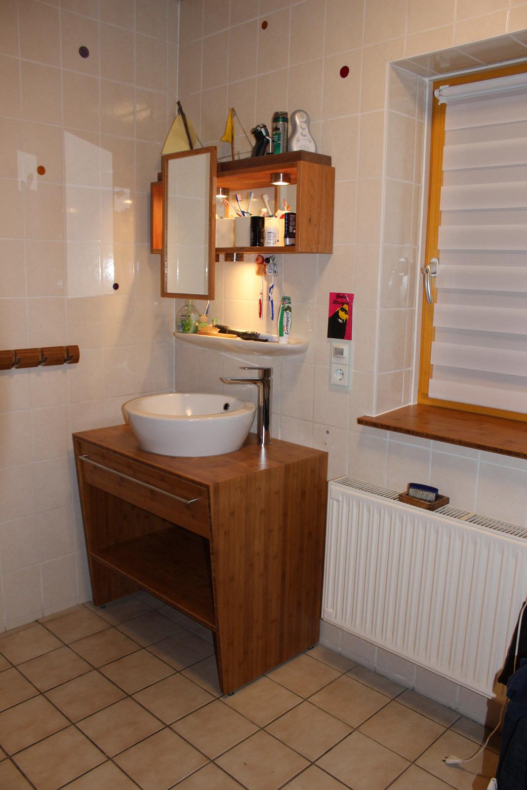 Badezimmerm bel bambus plattenwerkstoff projektwerkstatt - Badezimmermobel bambus ...