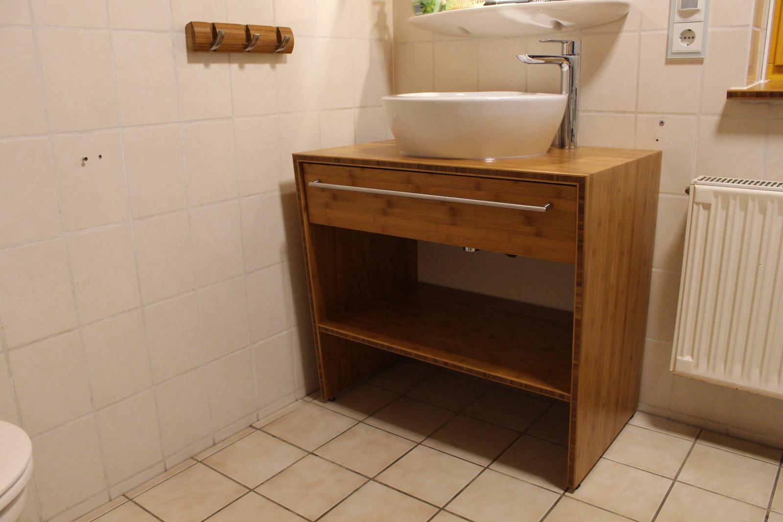 Badezimmermöbel Bambus Plattenwerkstoff - Projektwerkstatt HOLZ